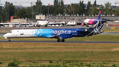 ES-ACC - Bombardier CRJ-900ER - LOT Polish Airlines (Nordica)
