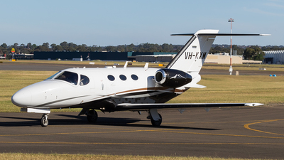 VH-KXM - Cessna 510 Citation Mustang - Private
