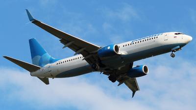 A picture of VPBQQ - Boeing 7378MC - Pobeda - © Mikhail Tkachuk
