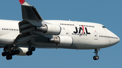 JA8913 - Boeing 747-446 - Japan Airlines (JAL)