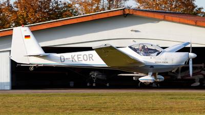 D-KEOR - Scheibe SF.25C-TL Rotax-Falke - Aero-Club Dachau