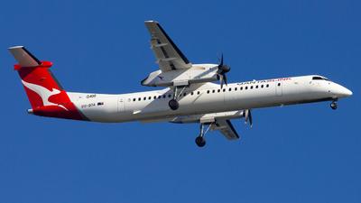 A picture of VHQOA - De Havilland Canada Dash 8400 - QantasLink - © Callum Arnold