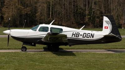 A picture of HBDGN - Mooney M20K - [251037] - © Joel Basler