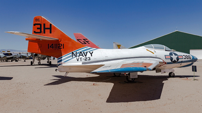 141121 - Grumman TAF-9J Cougar - United States - US Navy (USN)