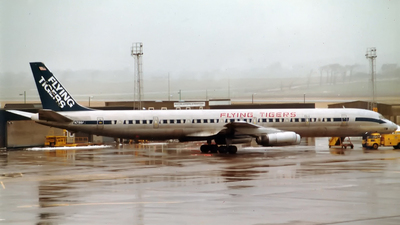 N798FT - Douglas DC-8-63(CF) - Flying Tigers