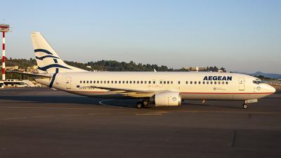 SX-DGN - Boeing 737-45D - Aegean Airlines
