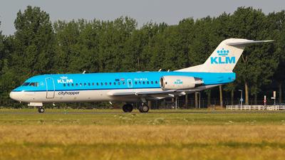 PH-WXA - Fokker 70 - KLM Cityhopper