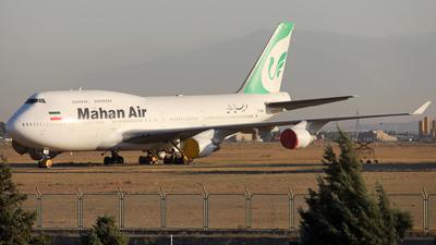 EP-MNA - Boeing 747-422 - Mahan Air