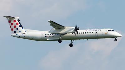 A picture of 9ACQE - De Havilland Canada Dash 8400 - Croatia Airlines - © Moritz Babl