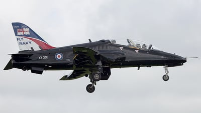 XX301 - British Aerospace Hawk T.1A - United Kingdom - Royal Navy