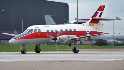 XX500 - British Aerospace Jetstream T.1 - United Kingdom - Royal Air Force (RAF)