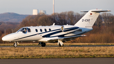 D-ICAO - Cessna 525 Citationjet CJ1 - Private
