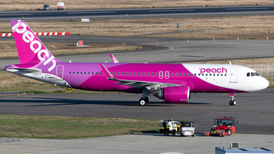 F-WWDQ - Airbus A320-251N - Peach Aviation