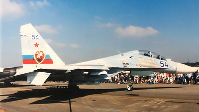 54 - Sukhoi Su-30 - Russia - Air Force
