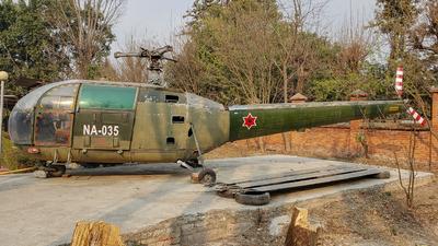 NA-035 - Aérospatiale SA 316B Alouette III - Nepal - Air Force