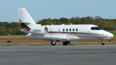 A picture of N578QS - Cessna 680A Citation Latitude - NetJets - © Carlos Barcelo