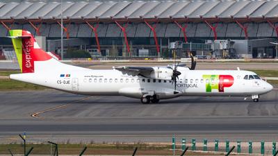 A picture of CSDJE - ATR 72600 - TAP Express - © Mateo León