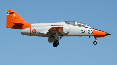 E.25-72 - CASA C-101 Aviojet - Spain - Air Force