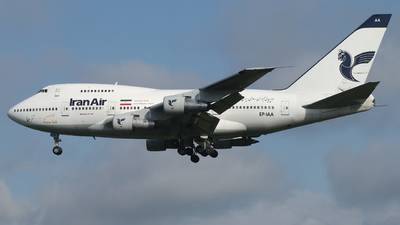 EP-IAA - Boeing 747SP-86 - Iran Air