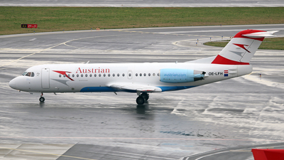 OE-LFH - Fokker 70 - Austrian Airlines (Tyrolean Airways)