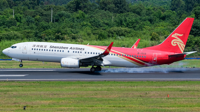 A picture of B1519 - Boeing 73787L - Shenzhen Airlines - © Predic. LXY!