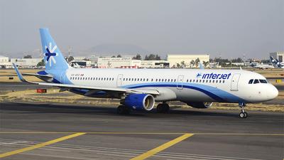 XA-GEO - Airbus A321-211 - Interjet