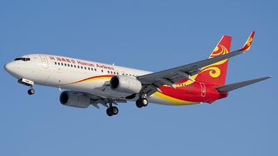 B-7619 - Boeing 737-86N - Hainan Airlines
