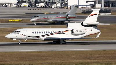 OE-ISX - Dassault Falcon 7X - International Jet Management