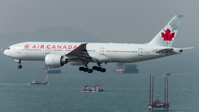 C-FIUF - Boeing 777-233LR - Air Canada