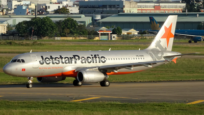 VN-A558 - Airbus A320-232 - Jetstar Pacific Airlines