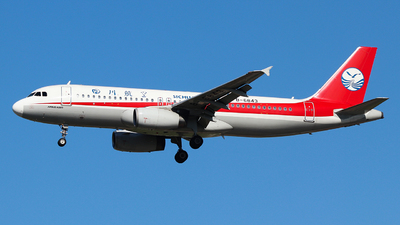 A picture of B6843 - Airbus A320232 - Sichuan Airlines - © King Wang