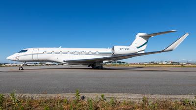 VP-COR - Gulfstream G650 - Private