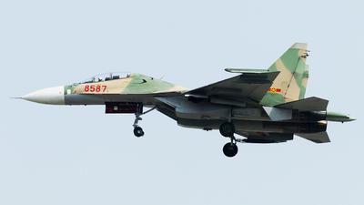 8587 - Sukhoi Su-30MK2V - Vietnam - Air Force