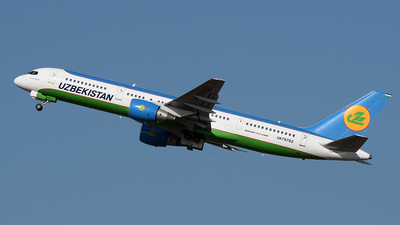UK75702 - Boeing 757-23P - Uzbekistan Airways