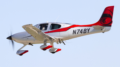 N74BY - Cirrus SR22T-GTS - Private