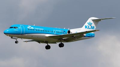 PH-KZL - Fokker 70 - KLM Cityhopper