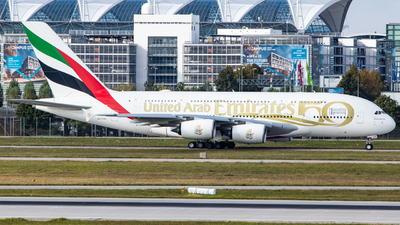 A6-EVG - Airbus A380-842 - Emirates