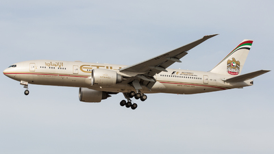 A6-LRD - Boeing 777-237LR - Etihad Airways