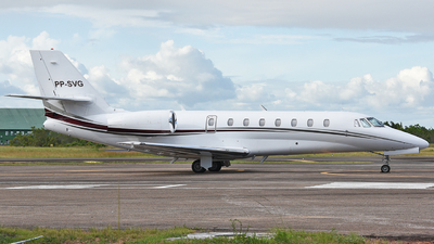 PP-SVG - Cessna 680 Citation Sovereign - Private