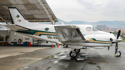 HK-4860-G - Beechcraft C90 King Air - Private