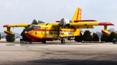 TC-TKY - Canadair CL-215 - Turkey - Turkish Aeronautical Association