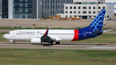PK-CMU - Boeing 737-86N - Sriwijaya Air