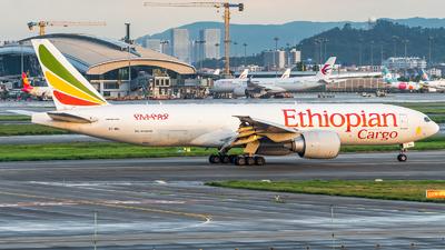 A picture of ETARJ - Boeing 777F60 - Ethiopian Airlines - © SINO6702