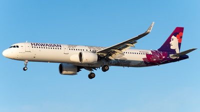 A picture of N209HA - Airbus A321271N - Hawaiian Airlines - © global_flyer1