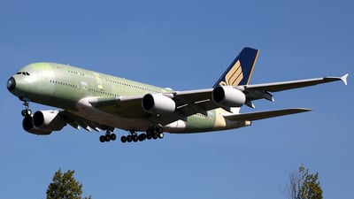 F-WWSS - Airbus A380-841 - Singapore Airlines