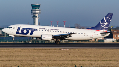 SP-LLF - Boeing 737-45D - LOT Polish Airlines