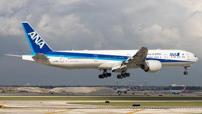 A picture of JA795A - Boeing 777300(ER) - All Nippon Airways - © Sean Brink