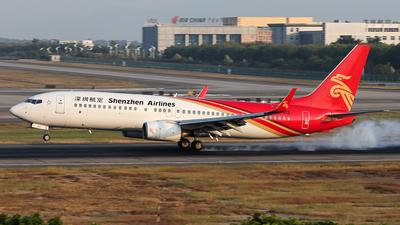 B-5413 - Boeing 737-87L - Shenzhen Airlines