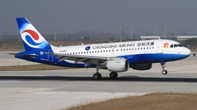 B-6187 - Airbus A319-115 - Chongqing Airlines