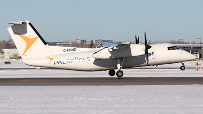 C-FDND - Bombardier Dash 8-102 - Provincial Airlines